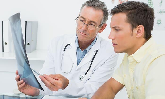 Диагностика паховой грыжи включает проведение ультразвукового исследования, рентгенографию