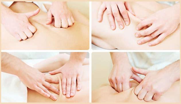 приемы в массаже спины