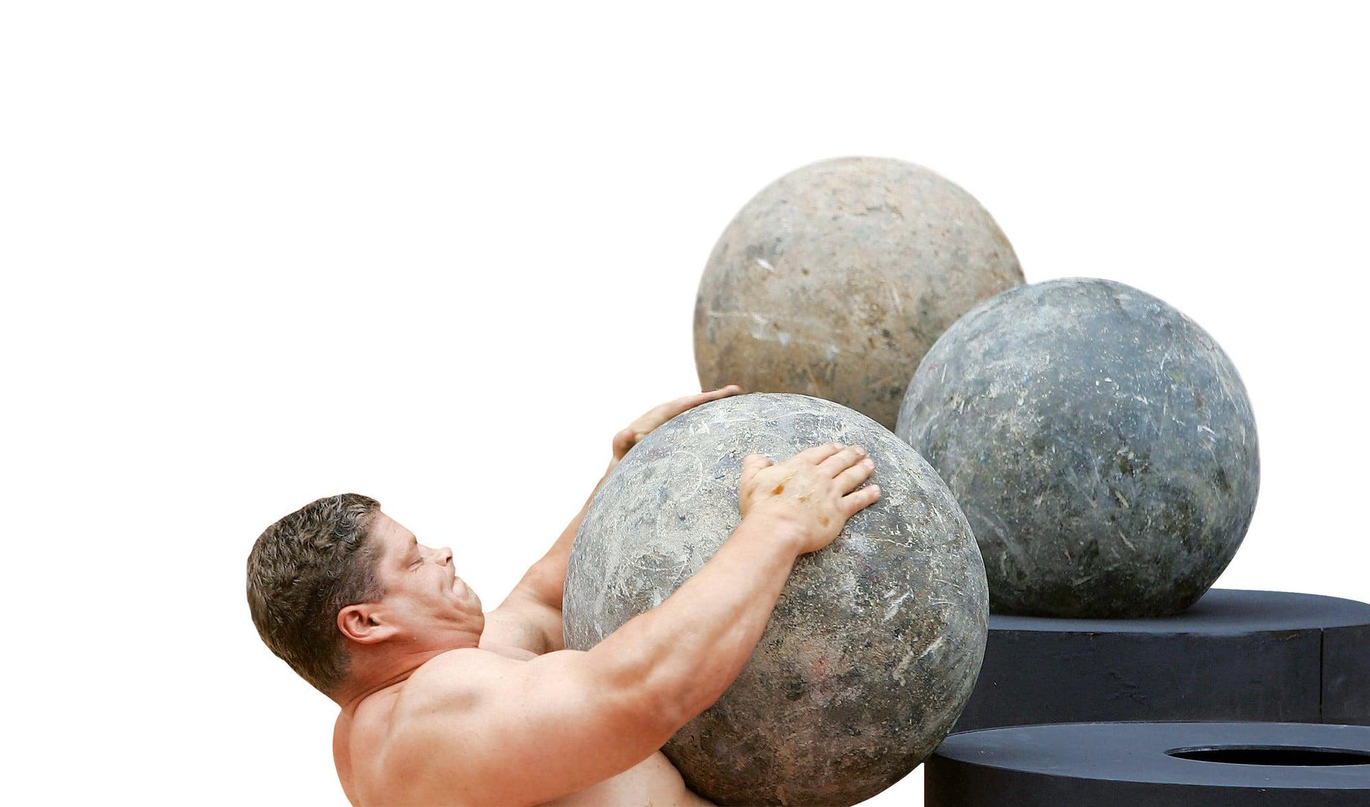 тяжелые камни, тяжесть