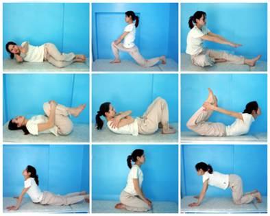 спинная грыжа упражнения видео