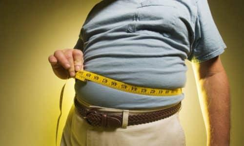 При лечении пациентов с избыточным весом эффективность процедуры будет ниже