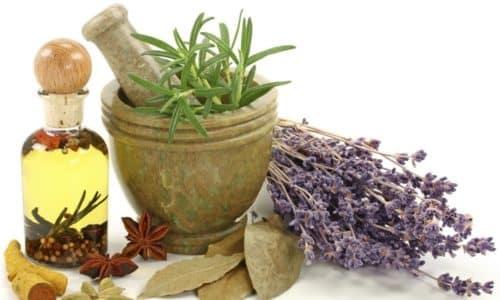 В качестве дополнения к традиционным методам терапии можно использовать народные средства