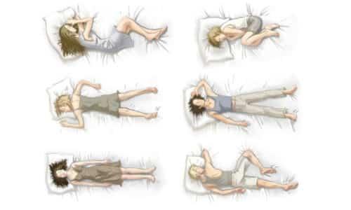 Выбор подходящего положения тела нужно делать с учетом локализации грыжи