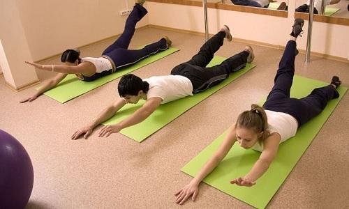 Гимнастика при грыже позвоночника поясничного отдела по Бубновскому помогает устранить боль и укрепить мышцы