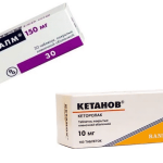 Совместимость препаратов Кетанов и Мидокалм