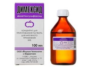 Как использовать Димексид при грыже позвоночника