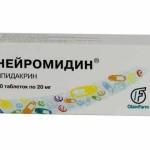 Применение Нейромидина при грыже позвоночника