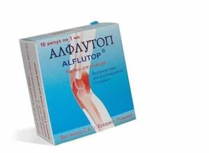 Помогает ли Алфлутоп при грыже позвоночника