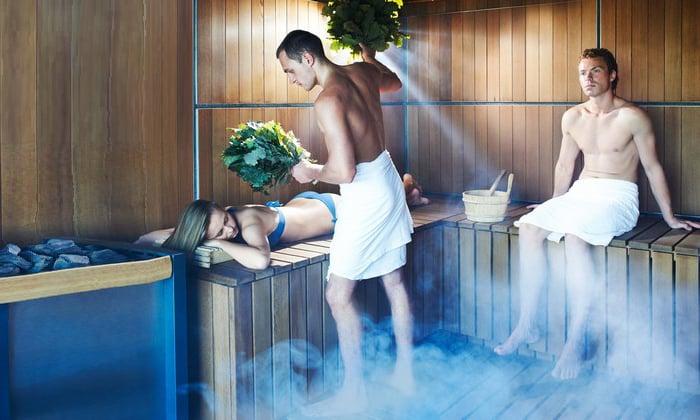 Воздействие на организм горячего воздуха повышает температуру в мягких тканях, что способствует устранению мышечного спазма и боли