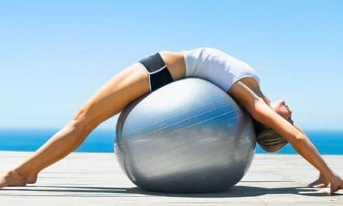 Если у вас диагностирована межпозвоночная грыжа, то занятия с фитболом способны содействовать более быстрому восстановлению