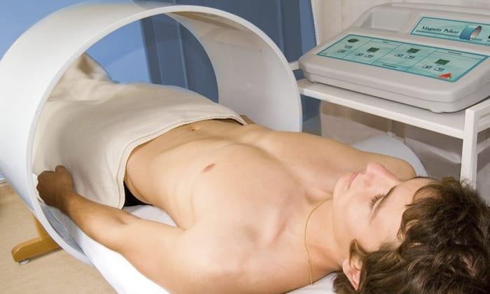 Магнитотерапию делает в больнице физиотерапевт