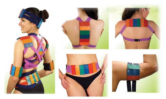 Игольчатые модели приспособлений Ляпко создаются в виде пояса, данный вариант чаще применяется для терапии поясничной грыжи