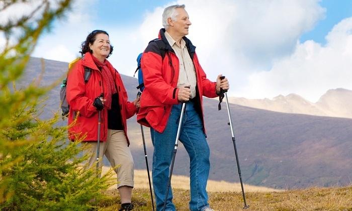 Улучшить состояние больного сможет скандинавская ходьба