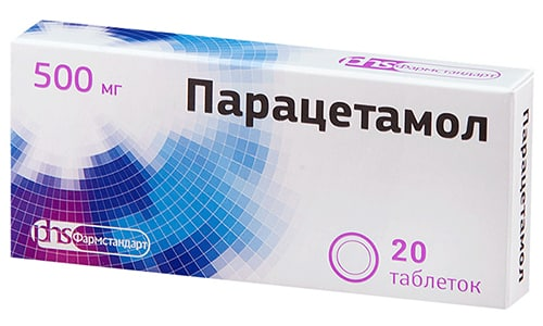 Парацетамол назначается для симптоматического лечения при лихорадке и для купирования болевого синдрома малой и средней интенсивности различного генеза